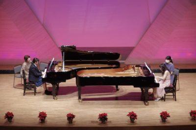 発表会の2台ピアノ